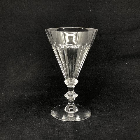 Unusual large Anglais glass