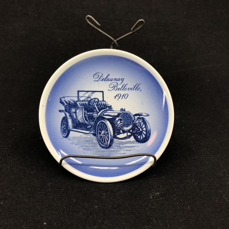 effc457719f4 Harsted Antik - Mini platte med motiv af Delaunay Belleville 1910