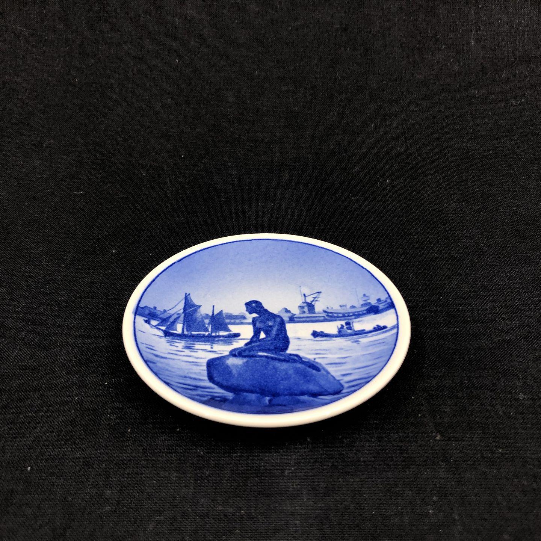 040587297fa8 Harsted Antik - Mini platte med motiv af Den Lille Havfrue